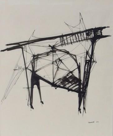 Lynn Chadwick, Study for Beast, 1957