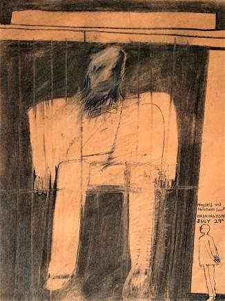 David Hockney, Myself and Abraham Lincoln, 1961
