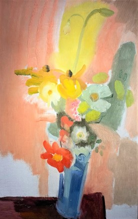 Ivon Hitchens, Untitled, Flowers, c.1942
