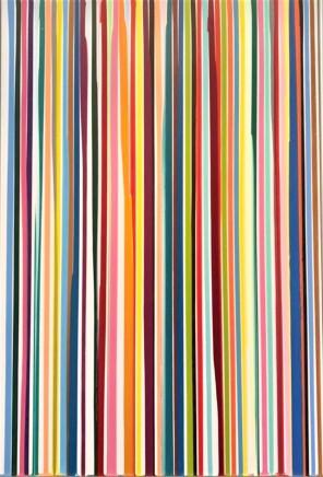 Ian Davenport, Poured Lines, Uni, 2006