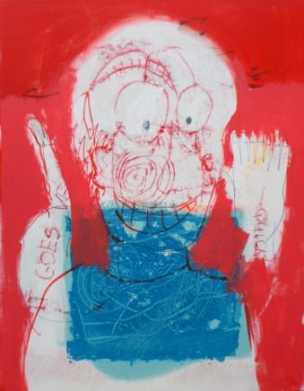 Moich Abrahams, Self Portrait, 2008