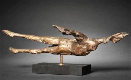 Elizabeth Frink, Horizontal Birdman 1, 1962
