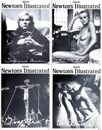 Helmut Newton's Illustrated, Complete set volumes 1-4