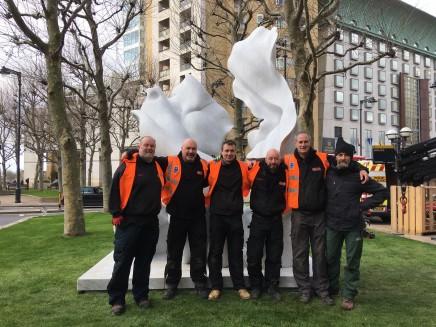 Taking Risks @ Canary Wharf Helaine Blumenfeld OBE