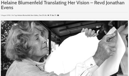 Helaine Blumenfeld Translating her Vision