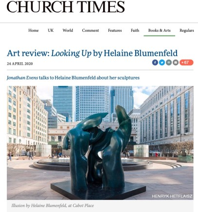 Art Review: Looking Up by Helaine Blumenfeld