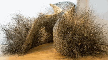 IN THE THICK OF IT - A WOVEN SPACE BY Laura Ellen Bacon