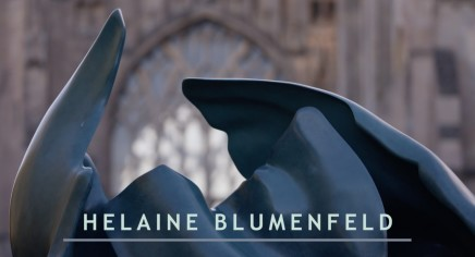 Helaine Blumenfeld at Ely Cathedral