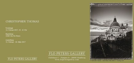 New York Sleeps | Venice in Solitude | Paris . City of Light | Engadin Flo Peters Gallery, Hamburg