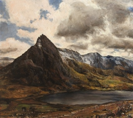 Cloudy day, Tryfan, Snowdonia