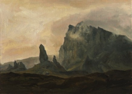 Clouds over Storr, Skye