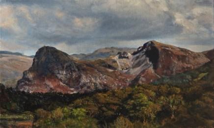 Craig yr Aderyn (Bird's Rock) near Cardigan Bay