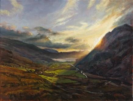 Down to Llyn Gwynant, Snowdonia SOLD