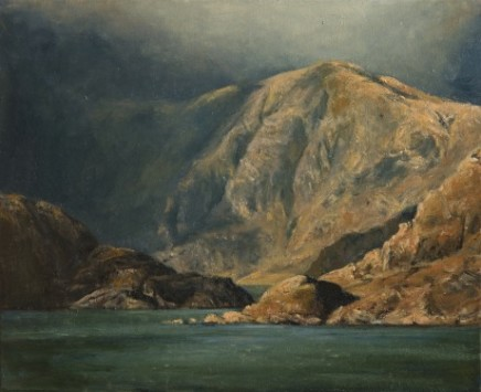 Entrance to Coruisk, at the foot of the Black Cuillin, Skye SOLD