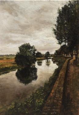 Stadswal den Bosch canal, Netherlands