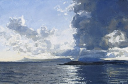 Dark Cloud Passing, Eigg & Rum