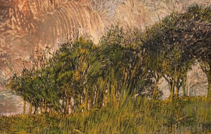 Copse at Evening SOLD