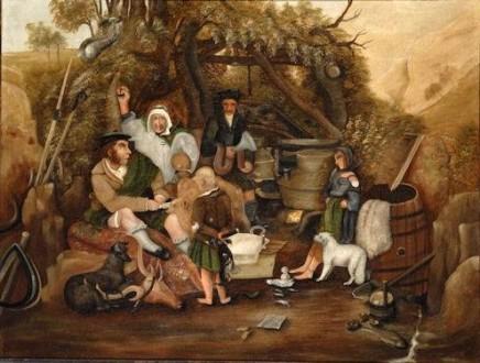 19th Century Naïve The Whisky Still