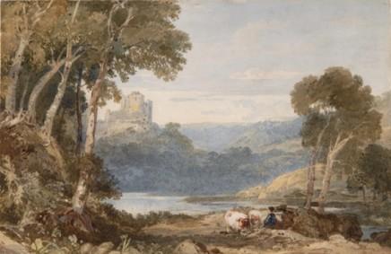 Francis Oliver Finch OWS A Classical Landscape, c. 1830