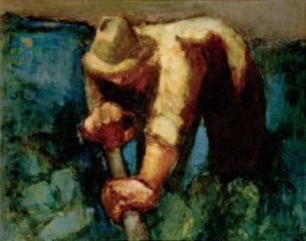 Will Roberts RCA Man with a Spade