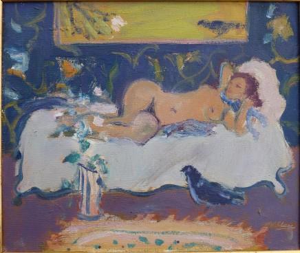 David McClure Reclining Nude