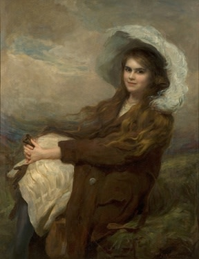 J V R Parsons The Feather Hat
