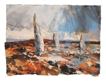 Stones, Callanish II (Isle of Lewis) SOLD