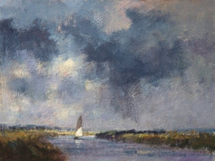 A Passing Shower, Norfolk Broads