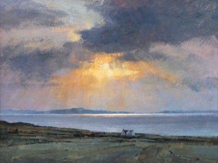 Sun and Showers over Skye SOLD