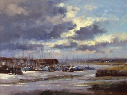 Winter Light at Oare Creek SOLD