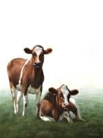 Fenny & Foejke the Cows II Alexandra Klimas