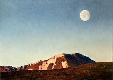 Moon over an Teallach Fred Schley