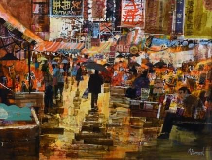 Rainy Hong Kong market SOLD