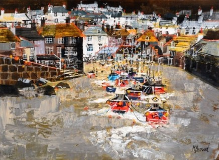 Cornish harbour, Port Isaac SOLD