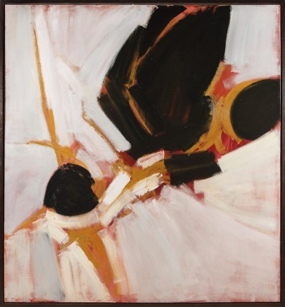 Painting: Black, White & Pink, 1959