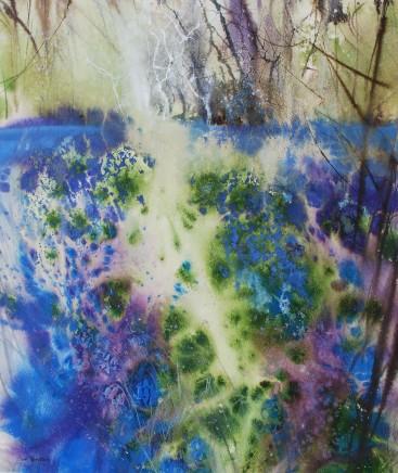 Ann Blockley Bluebells: Sunshine and Shadow