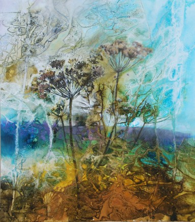 Ann Blockley Where humble weeds embroider the meadow