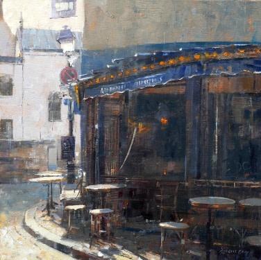 Douglas Gray Blue Café, Montmartre £1,950
