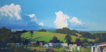 Richard Thorn SWAc Castles in the Sky £1,950