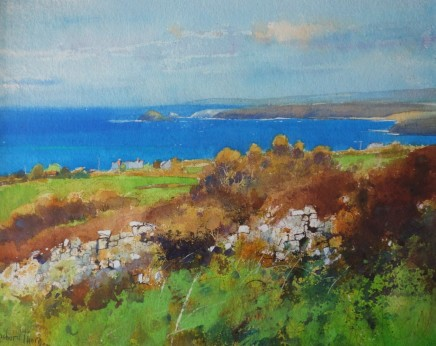 Richard Thorn SWAc St.Agnes and Atlantic Blue £2,600