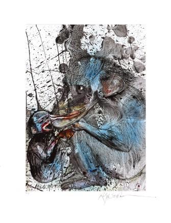 Ralph Steadman Bonobo £635 (framed)