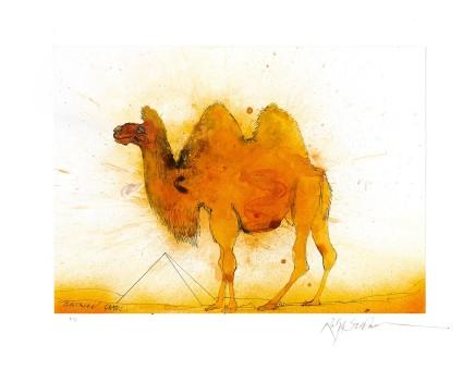 Ralph Steadman Bactrian Camel £635 (framed)