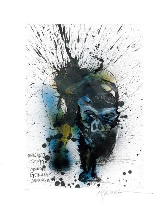 Ralph Steadman Gorilla £635 (framed)