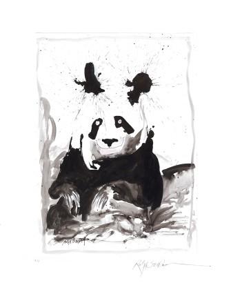 Ralph Steadman Giant Panda £635 (framed)