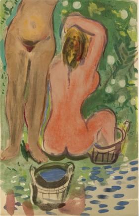 Le Bain, 44 x 28 cm £2,450