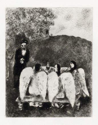 Abraham and the Three Angels, 1956 30.2 x 24.2 cm £2,000