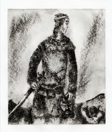 David defeats Goliath, 1956 30.2 x 24.2 cm £2,000