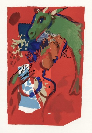 Untitled (Chèvre Verte) 25.5 x 16.5 cm £1,250
