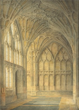 Gloucester, A Corner of the Cloister SOLD