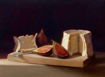 Cheese and figs Raquel Alvarez Sardina